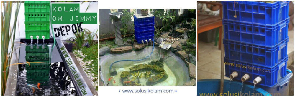filter kolam tipe trickle small
