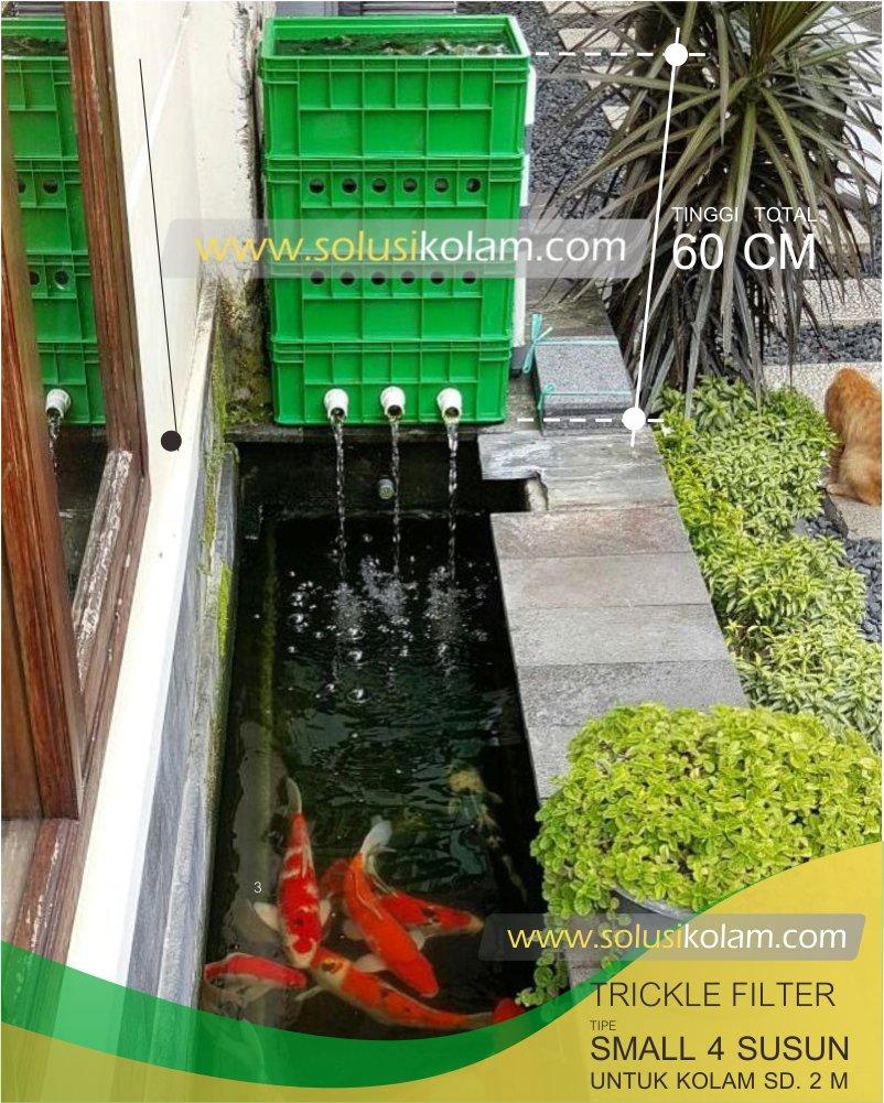 Trickle Filter kolam koi tipe small hijau