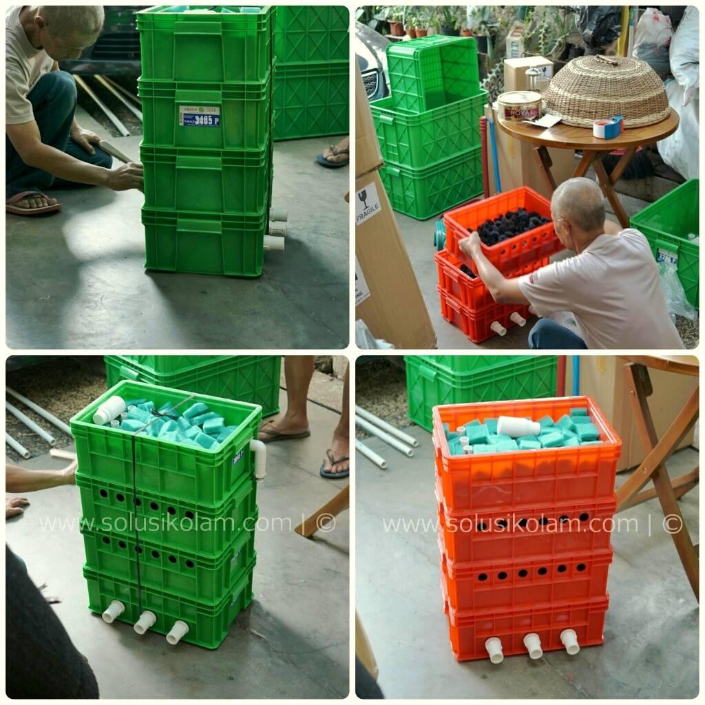 Produksi Trickle Filter Kolam Bandung